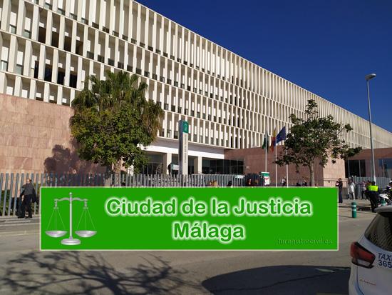 Audiencia Provincial en la Ciudad de la Justicia de Málaga en la Calle Fiscal Luis Portero García